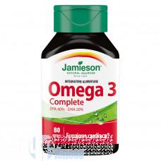 JAMIESON OMEGA 3 COMPLETE 80 PERLE