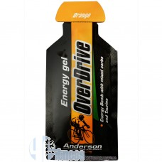 ANDERSON OVERDRIVE ENERGY GEL 30 GR