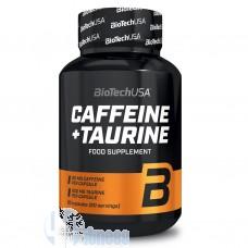 BIOTECH USA CAFFEINE+TAURINE 60 CPS