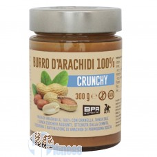 BPR NUTRITION BURRO DI ARACHIDI 100% CRUNCHY 300 GR