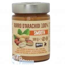 BPR NUTRITION BURRO DI ARACHIDI 100% SMOOTH 300 GR