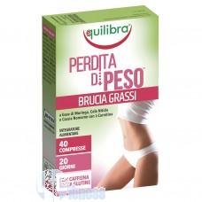 EQUILIBRA PERDITA DI PESO BRUCIA GRASSI 40 CPR