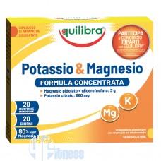 EQUILIBRA POTASSIO & MAGNESIO 20 BUSTINE