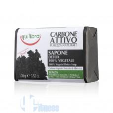 EQUILIBRA SAPONE AL CARBONE ATTIVO 100 GR