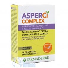FARMADERBE ASPER CI COMPLEX 18 CPR