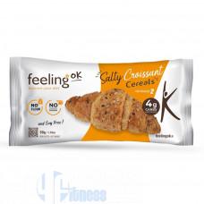 FEELING OK OPTIMIZE SALTY CROISSANT CEREALS 50 GR
