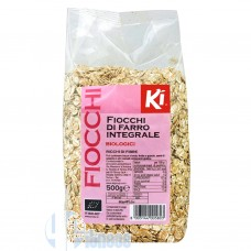 KI GROUP KI FIOCCHI DI FARRO INTEGRALE BIOLOGICI 500 GR