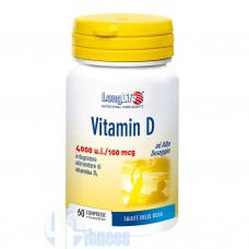 LONG LIFE VITAMIN D 4000 U.I. 60 CPR