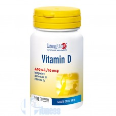 LONG LIFE VITAMIN D 400 U.I. 100 CPR
