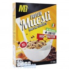 MG FOOD PROTEIN MUESLI MIELE-CIOCCOLATO 400 GR