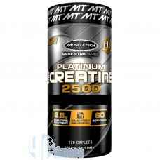 MUSCLETECH PLATINUM 100% CREATINE 2500 120 CPR