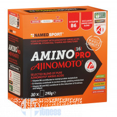 NAMED SPORT AMINO 16 PRO AJINOMOTO 30 BUSTINE