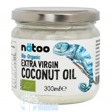 NATOO EXTRA VIRGIN COCONUT OIL 300 ML