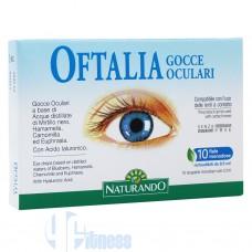 NATURANDO OFTALIA GOCCE OCULARI 10 FIALE MONODOSE