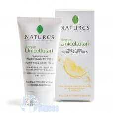 NATURE'S ACQUE UNICELLULARI MASCHERA PURIFICANTE VISO 50 ML