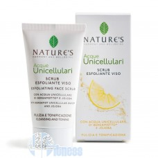 NATURE'S ACQUE UNICELLULARI SCRUB ESFOLIANTE VISO 50 ML