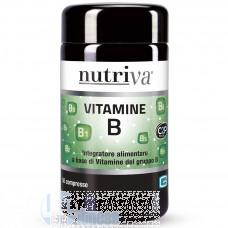 NUTRIVA VITAMINE B 50 CPR
