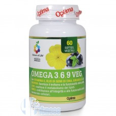 OPTIMA OMEGA 3.6.9 VEG 60 SOFTGEL