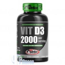PRO NUTRITION VIT D3 2000 180 CPR
