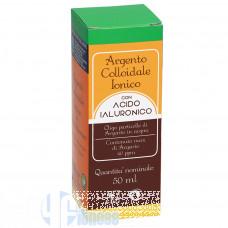 PUNTO SALUTE ARGENTO COLLOIDALE IONICO CON ACIDO IALURONICO 50 ML