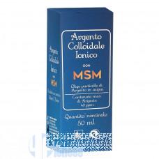 PUNTO SALUTE ARGENTO COLLOIDALE IONICO CON MSM 50 ML