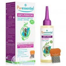PURESSENTIEL ANTI-PIDOCCHI LOZIONE 100 ML + PETTINE