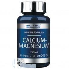 SCITEC CALCIUM-MAGNESIUM 90 CPR