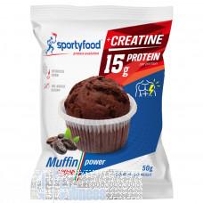 SPORTYFOOD MUFFIN POWER 50 GR