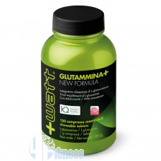 +WATT GLUTAMMINA+ COMPRESSE 120 CPR