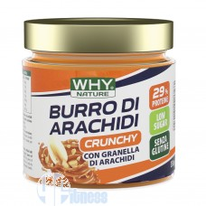 WHY NATURE BURRO DI ARACHIDI CRUNCHY 350 GR