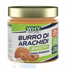 WHY NATURE BURRO DI ARACHIDI SMOOTH 350 GR