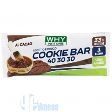 WHY NATURE COOKIE BAR 40-30-30 21 GR