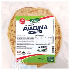 WHY NATURE PIADINA PROTEICA 200 GR