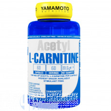 YAMAMOTO ACETYL L-CARNITINE 60 CPS